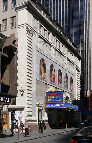 Shubert Theatre (New York City) - 44th Street facade, 2007