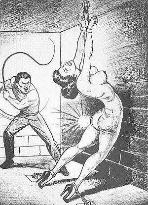 Sadomasochism - Joe Shuster (1950s), co-creator of Superman, from Nights of Horror