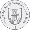 Siegel der Stadt Warendorf a.d.Ems 1 laut Hauptsatzung.png