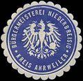 Siegelmarke Bürgermeisterei Niederbreisig Kreis Ahrweiler W0382898.jpg