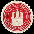 Siegelmarke Direktion des Werk und Armenhauses W0307391.jpg