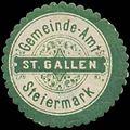 Siegelmarke Gemeinde-Amt St. Gallen-Steiermark W0386172.jpg