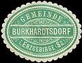 Siegelmarke Gemeinde Burkhardtsdorf im Erzgebirge (Sachsen) W0253651.jpg