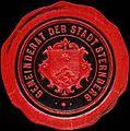 Siegelmarke Gemeinderat der Stadt Sternberg W0318144.jpg