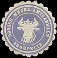 Siegelmarke Gr. Meckl. Amtsanwalt Kroepelin W0355732.jpg