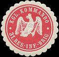 Siegelmarke K. Kommando 31. Reserve-Infanterie-Brigade W0346870.jpg