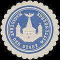 Siegelmarke Magistrat der Stadt Wittenberge W0334693.jpg