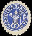 Siegelmarke Siegel des Dorfes Bilzingsleben W0310519.jpg
