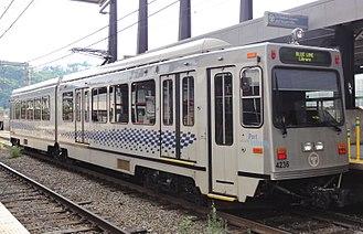 Blue Line (Pittsburgh) - Blue Line train