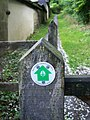 Sign for the Clarendon Way - geograph.org.uk - 873654.jpg