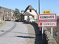 Signalisation Conques - Concas.JPG