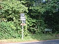 Signpost at the junction of Collendean Lane and Horsehill - geograph.org.uk - 24409.jpg