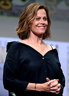 Sigourney Weaver American actress