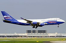Silk Way Airlines Boeing 747-400 Kinader.jpg