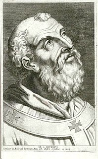 Pope Silverius pope