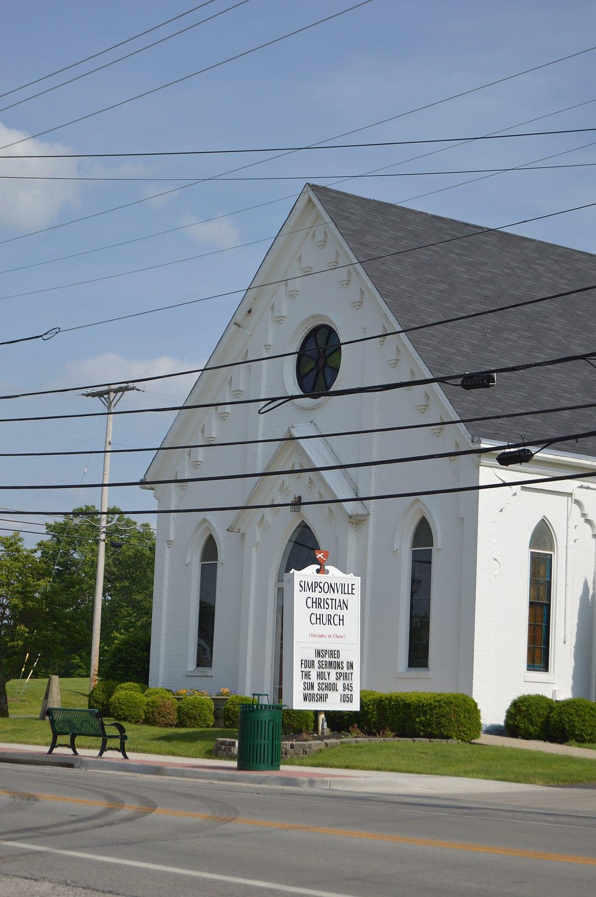 Simpsonville Christian Church Wikipedia