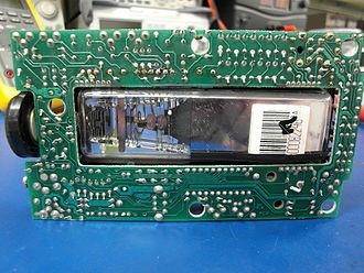 TV80 - Image: Sinclair FTV1back PCB