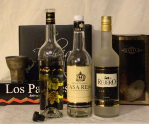 Singani - Major brands of Singani: Los Parrales, Casa Real, Rujero.