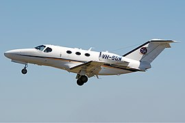 Singapore Flying College Cessna Citation Mustang Bundaberg Vabre.jpg