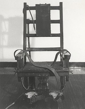 Old Sparky from Sing-Sing prison