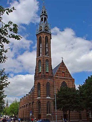 St. Joseph Cathedral, Groningen - Image: Sint Jozefkathedraal 2