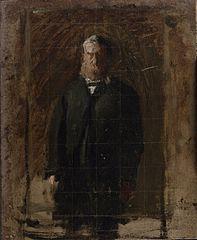 Esquisse pour le portrait du Professeur George F. Barker
