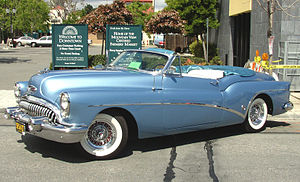 Buick Skylark - 1953 Buick Roadmaster Skylark