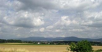 Slanské Hills - Overlooking Milhost near the Slovak border, to the south of Slanské Hills