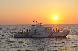 Sri Lanka Coast Guard - A Colombo-class fast patrol craft belonging to the SLCG