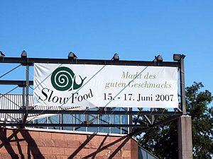 Slow Food Messe in Stuttgart 2007