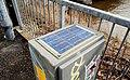 Small solar panel, Belfast - geograph.org.uk - 1728484.jpg