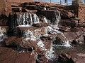 Snowflake Arizona L.D.S. Temple Waterfall (5276097593).jpg