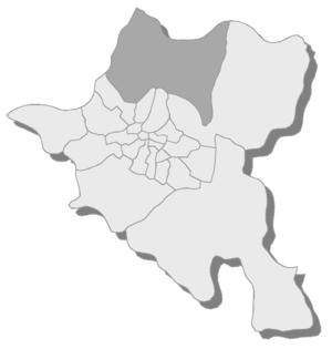 Novi Iskar - Location of Novi Iskar rayon