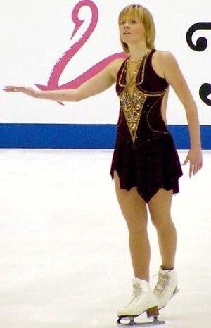 Elena Sokolova - Sokolova at the 2004 NHK Trophy
