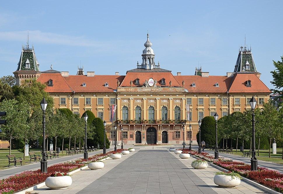 Sombor (Zombor) - town hall