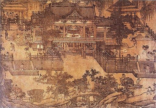 Song Dynasty Hydraulic Mill for Grain