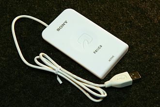 "FeliCa - Sony ""PaSoRi"" RC-S320 Contactless IC Card Reader/Writer"