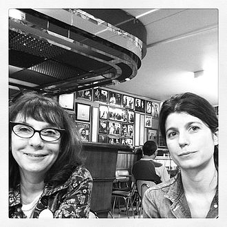 Sophie Calle - Sophie Calle (left) and Alexandra Cohen