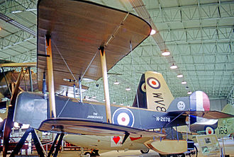 Sopwith Baby - Composite Baby with original parts displayed at the Fleet Air Arm Museum