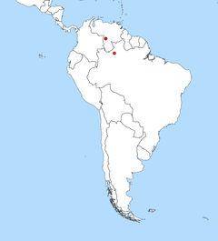 South America distribution Nannostomus Anduzei.png