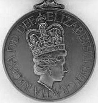 South Atlantic Medal - Image: South Atlantic Medal obv