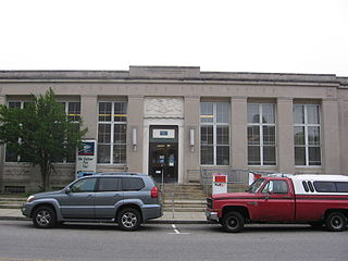United States Post Office–South Norwalk Main United States historic place