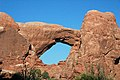 South Window Arch, Entrada Sandstone (Middle Jurassic), Windows Section, Arches National Park, eastern Utah 5 (8470285863).jpg