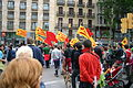 Spain.Barcelona.Diada.Sant.Jordi.Plaza.Universitat.01.Manifestacion.JPG