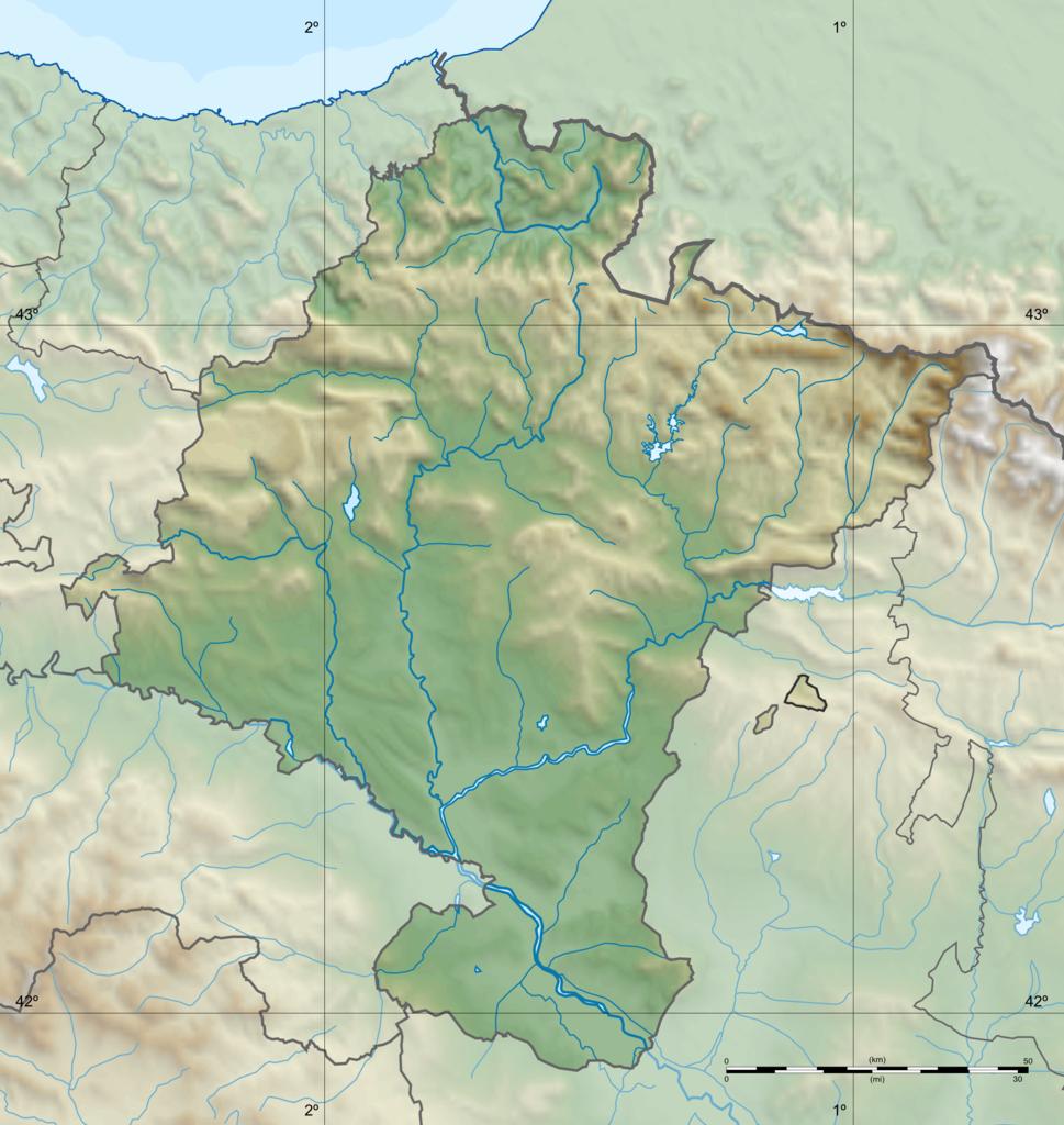 DateiSpain Navarre relieve.png – Wikipedia