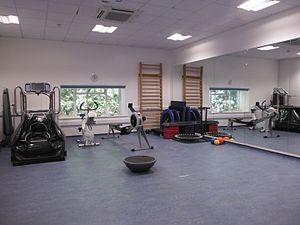 University of Kent – School of Sport & Exercise Sciences - University of Kent student-led Sports Therapy rehabilitation gym, based in Medway Park, Gillingham