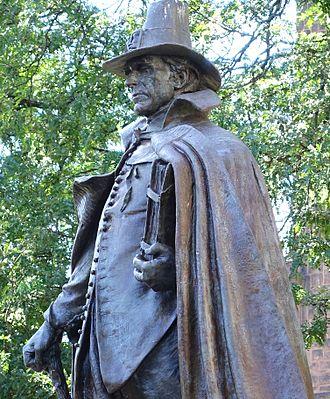 The Puritan (Springfield, Massachusetts) - Image: Springfield Puritan detail