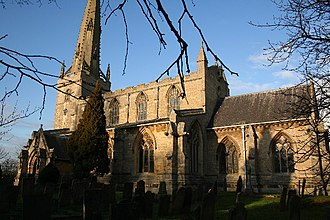 Welbourn - Image: St.Chad's church, Welbourn, Lincs. geograph.org.uk 101663
