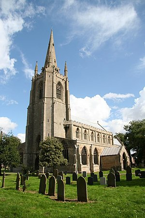 Swineshead, Lincolnshire - St Mary's church