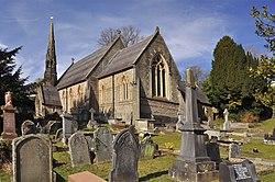 St. Catwg's Church - Pentyrch - geograph.org.uk - 1735690.jpg